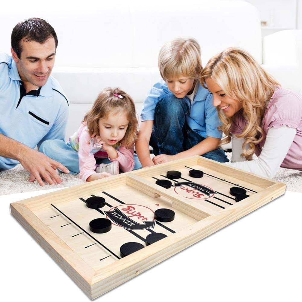 Fast Sling Puck Game, Portable Indoor Winner Slingpuck Board Game Voor Volwassen En Kinderen, Tafelblad Fun Toys,Adult style Adult Style