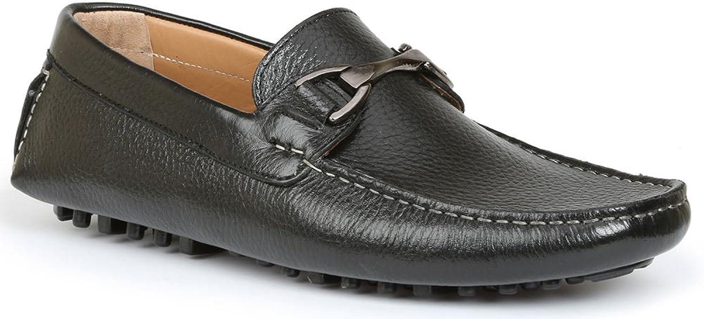 Giorgio Brutini Men's Tonik Driver Loafers, schwarz Leather, Leather, Leather, 8.5 M  6b4330