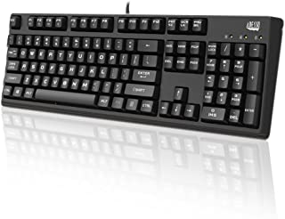 Adesso Easy Touch 635 - Full Size Mechanical Gaming Keyboard (AKB-635UB)