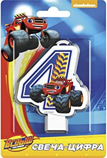 Blaze and Monster Machines Cake Cupcake Topper 4 Years Must Have Accessories for the Party Supplies and Birthday