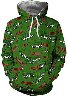 Fashion Hoody Women Men 3D Pepe The Frog Print Harajuku Hip Hop Hoodies Sweatshirts