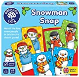 Orchard Toys Snowman Snap Traditional Matching Card Game