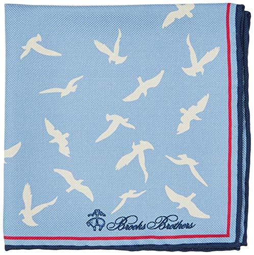 Brooks Brothers 100157045 Cravatta, Blu (Blue 455), One Size (Taglia produttore:OS -) Uomo