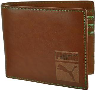 c565bbb788 Puma Cash Card Wallet cartes de crédit Porte-monnaie en cuir Portefeuille  Brun