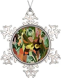 VINMEA Branche de Sapin de Noël Jungle Scrabble