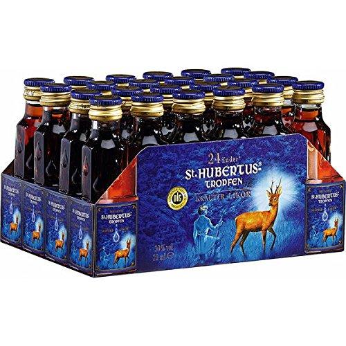 St.Hubertus-Tropfen Kräuterlikör ( 24 x 20 ml Flaschen )