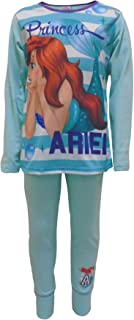 Ragazza Pigiama Due Pezzi Disney Princess Ariel Mermaid