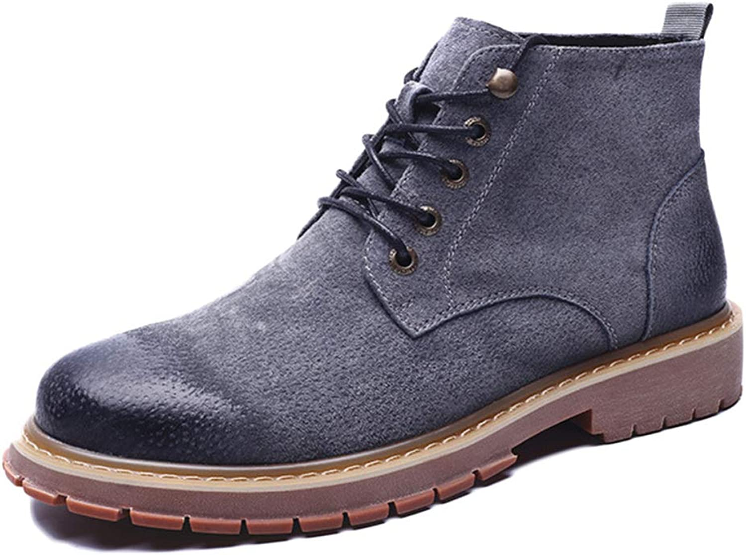 Men's Boots Chelsea Boots Oxblood Safety Brogue Classic Martin Boots Ankle Boots Tooling