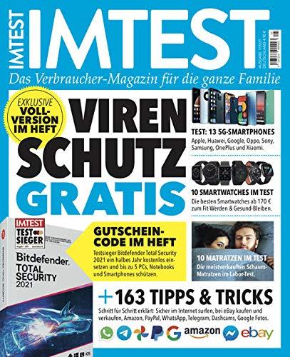IMTEST - Das Test-Magazin für die ganze Familie: Das Imtest Magazin No. 01/2021: Das Imtest Magazin No. 2