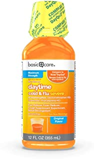 Basic Care Daytime Cold & Flu Severe, 12 Fl. Oz
