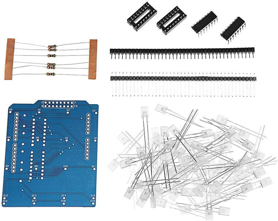 LanGuShi CC520 5pcs 4X4X4 Blue Purchase LED Cube Limited time trial price Kit 3D Short DIY