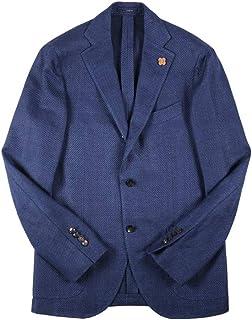[52] [LARDINI] ラルディーニ ジャケット メンズ 春夏 ネイビー 紺 リネン混 大きいサイズ [18736] [並行輸入品]