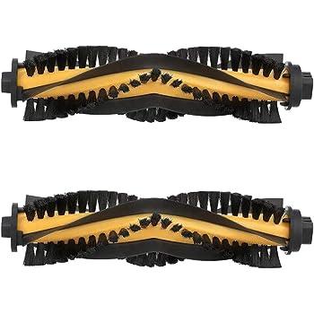 MIRTUX Kit de 2 cepillos centrales para Conga Excellence 990. Pack de Rodillo Cepillo Central aspiradora Robot cecotec Conga. Accesorios y Repuesto Conga.: Amazon.es: Hogar