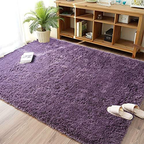 Tappeto peluche LNGVBF, soffice tappeto, zerbino, morbido tappeto antiscivolo, tappeto per...