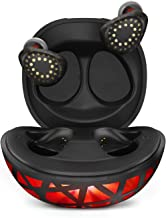 Axloie True Wireless Earbuds Bluetooth 5.0 Headphones with Colorful Charging Case, in Ear Detection Auto Play, IPX6 Waterproof TWS Stereo Headphones Built in Mic Wireless Earphone for Sport