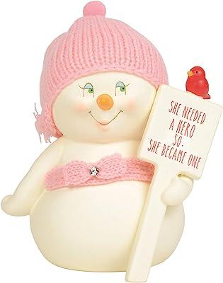 Department 56 Snowpinions She Needed a Hero Figurine, 6 Inch, Multicolor