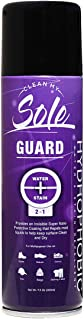 Clean My Sole Guard Multi Purpose Waterproof Spray Protection For Shoes, Sneakers, Car Repels Liquids, Blocks Stains On Nubuck Leather, Suede, Fabric, Canvas, Upholstery and more 7.5 Oz