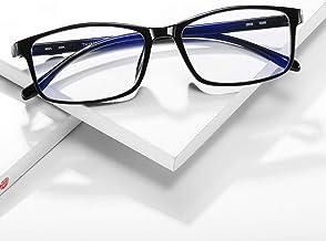 UBUJI Blue Light Blocking Glasses For Women & Men - Computer Glasses Blue Light Blocking Gaming Reading Blue Blocker Glasses, Protective Eyewear Blue Light Filter Glasses for Computer Eye Strain Black
