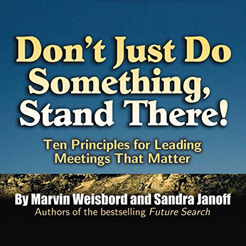 Don't Just Do Something, Stand There! audiobook cover art