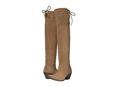 Ariat Pandora (Dijon Suede) Cowboy Boots