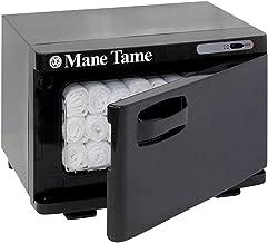 Mane Tame Professional Barber Mini Towel Warmer - Pre-Hot Towel Facial Shave Mini Cabinet comfortably fits (11) 15