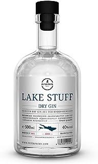 Lake Stuff Gin von Peter Prime Finest Hergestellt am Bodensee -Dry Gin Aus Deutschland - fruchtiger Geschmack - einzigartige süßliche Note -0,5 Liter