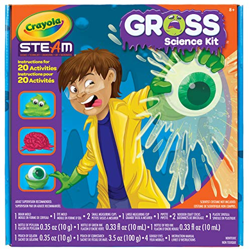 15-Experiment Crayola Kid's Gross Science Kit $7.97, Liquid Science Kit $9.67 + Free Shipping w/ Prime or on $25