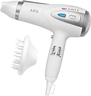 comprar comparacion AEG HTD 5584 - Secador de pelo profesional iónico con difusor, 3 niveles de temperatura, 2 velocidades, 2200 W, color blan...