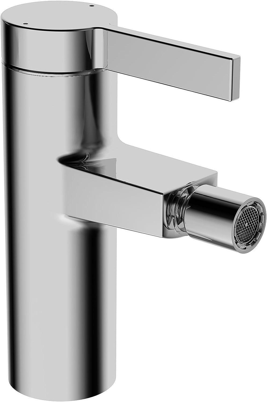 Hansa Schwenkbarer-Einhebelmischer HANSALOFT 57663203 mit Ablaufgarnitur und flexiblem Druckschlauch, verchromt