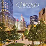 Chicago 2022 7 x 7 Inch Monthly Mini Wall Calendar, USA United States of America Illinois Midwest City