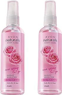 Avon Naturals 3-in-1 Rose Spray (set of 2 of 150ml each)