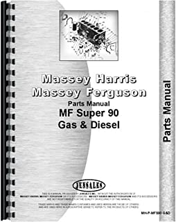 New Massey Ferguson Super 90 Tractor Parts Manual