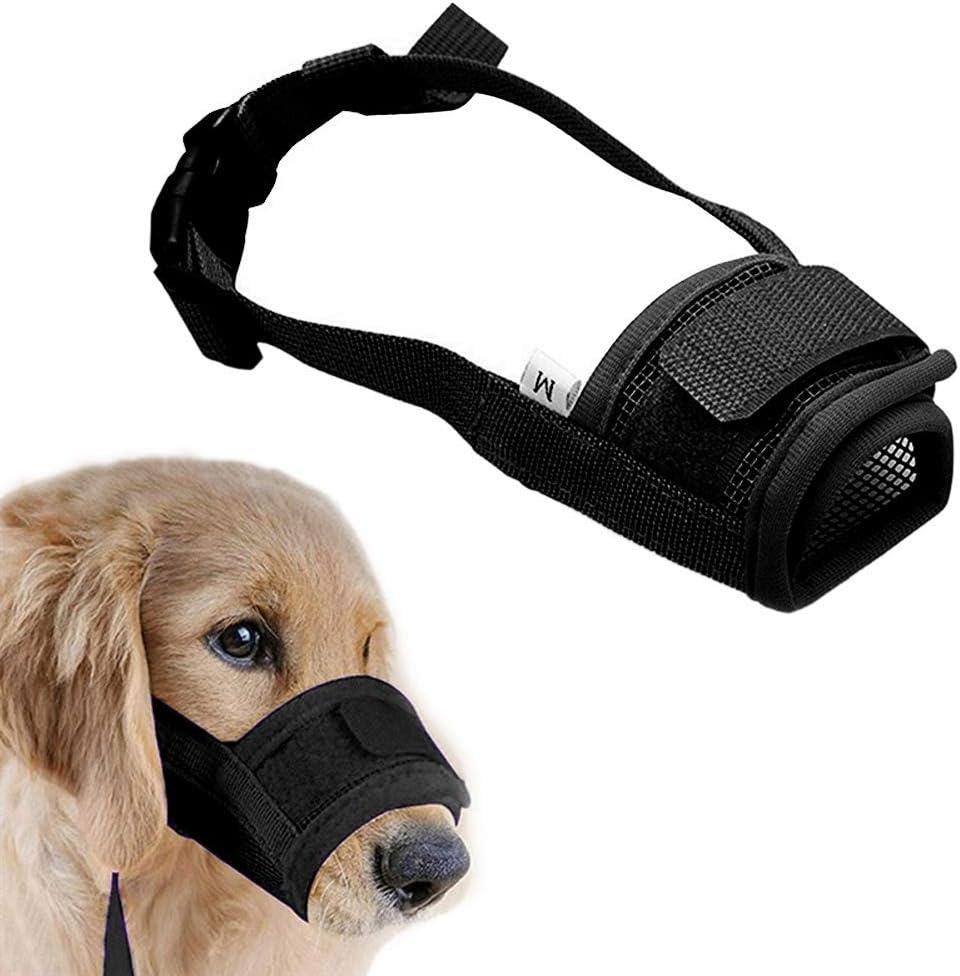 Superlatite Coppthinktu Muzzle for Dogs - Dog Soft Adjustable Sma Large discharge sale