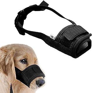 Coppthinktu Muzzle for Dogs - Adjustable Soft Dog Muzzle for Small Medium Large Dog, Air Mesh Training Dog Muzzles for Bit...