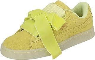 puma suede jaune moutarde femme