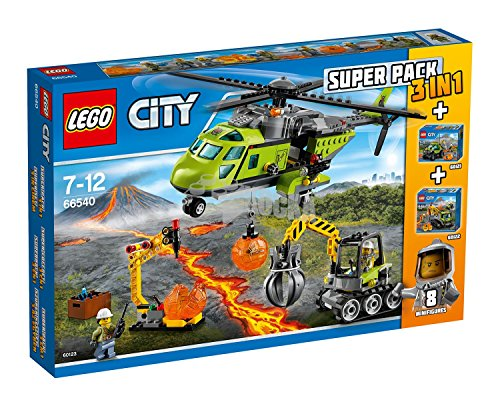 Lego City Super Pack 3 und 1 Vulkan (66540)