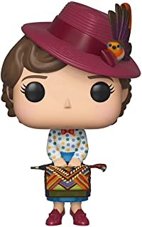 Funko 33907 Pop Disney: Mary PoppinsMary with Bag Collectible Figure, , Standard, Multicolor