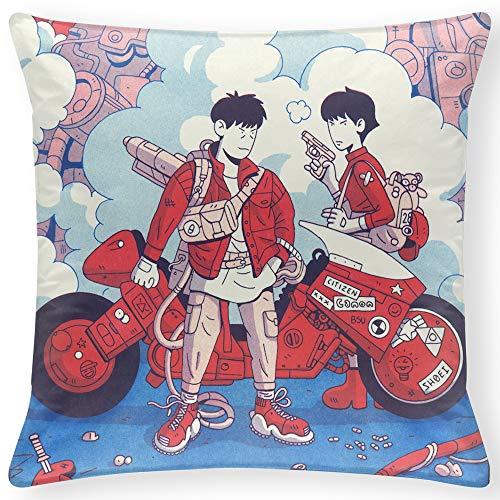 RO&CO Fundas de colchón Akira 50x50 cm Pillow Case 20x20 Inch Fundas de Cojines para el hogar Funda de Almohada para sofá H-099