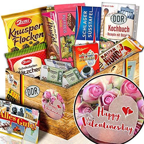 Happy Valentinesday + Freundin Geschenk + Ossi Paket Schokolade