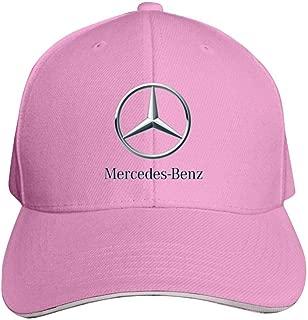 Sokizhoy Baseball Cap Mercedes-Benz Car Logo Dad Hat Trucker Cap Cool for Boys Girls Pink