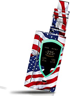 MightySkins Skin Compatible with Smok ProColor 225W - Patriot   Protective, Durable, and Unique Vinyl Decal wrap Cover   Easy to Apply, Remove, and Change Styles   Made in The USA