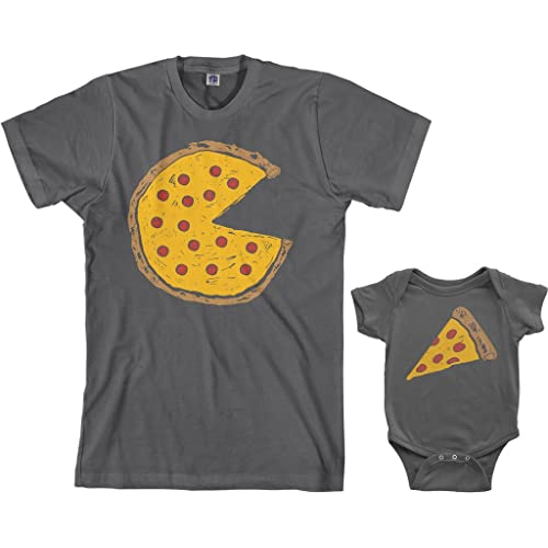385e909014f Threadrock Pizza Pie   Slice Infant Bodysuit   Men s T-Shirt ...