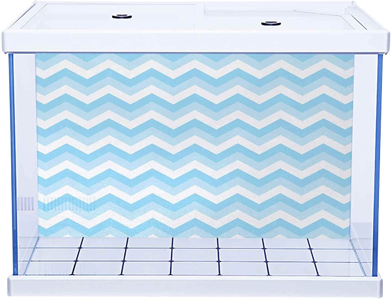 SUZM Fish Tank Wallpaper Aquarium Chevron In stock Patt Background Under blast sales Zigzag