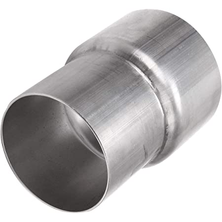 """Amazon.com : Universal 2.5"""" ID to 3"""" OD Exhaust Pipe Adapter Connector  Reducer Mild Steel : Tools & Home Improvement"""