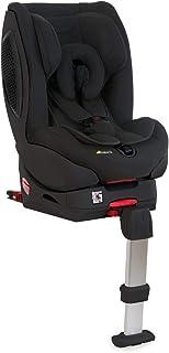 Hauck Varioguard Plus Reboard - Silla auto grupo 0/1 con base Isofix desde nacimiento hasta 18 kg, arnés de 5 puntos, espuma antichoque lateral, cabecero ajustable, posición de tumbado, negro