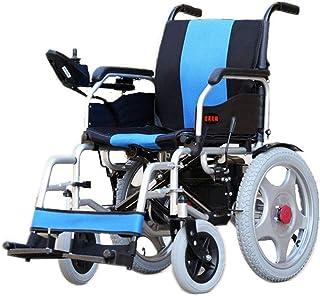 De peso ligero plegable sillas de ruedas eléctrica Eléctrica del asiento for sillas de ruedas Ancho 45cm ultra portátil silla de ruedas plegable de la energía (12A batería de litio) 250W Dual Motor