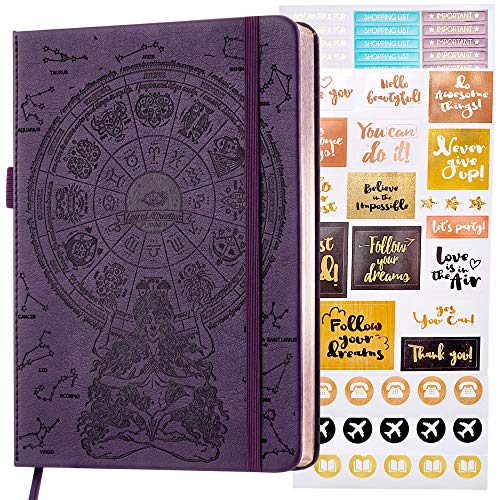 Law of Attraction Life and Goal Planner - Undated Deluxe Day Planner - Personal Gratitude Journal, Week Success Planner, Vision Board & Organizer + Planner Stickers