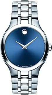 Movado Men's Collection 0606369 Silver Metal Quartz Fashion Watch