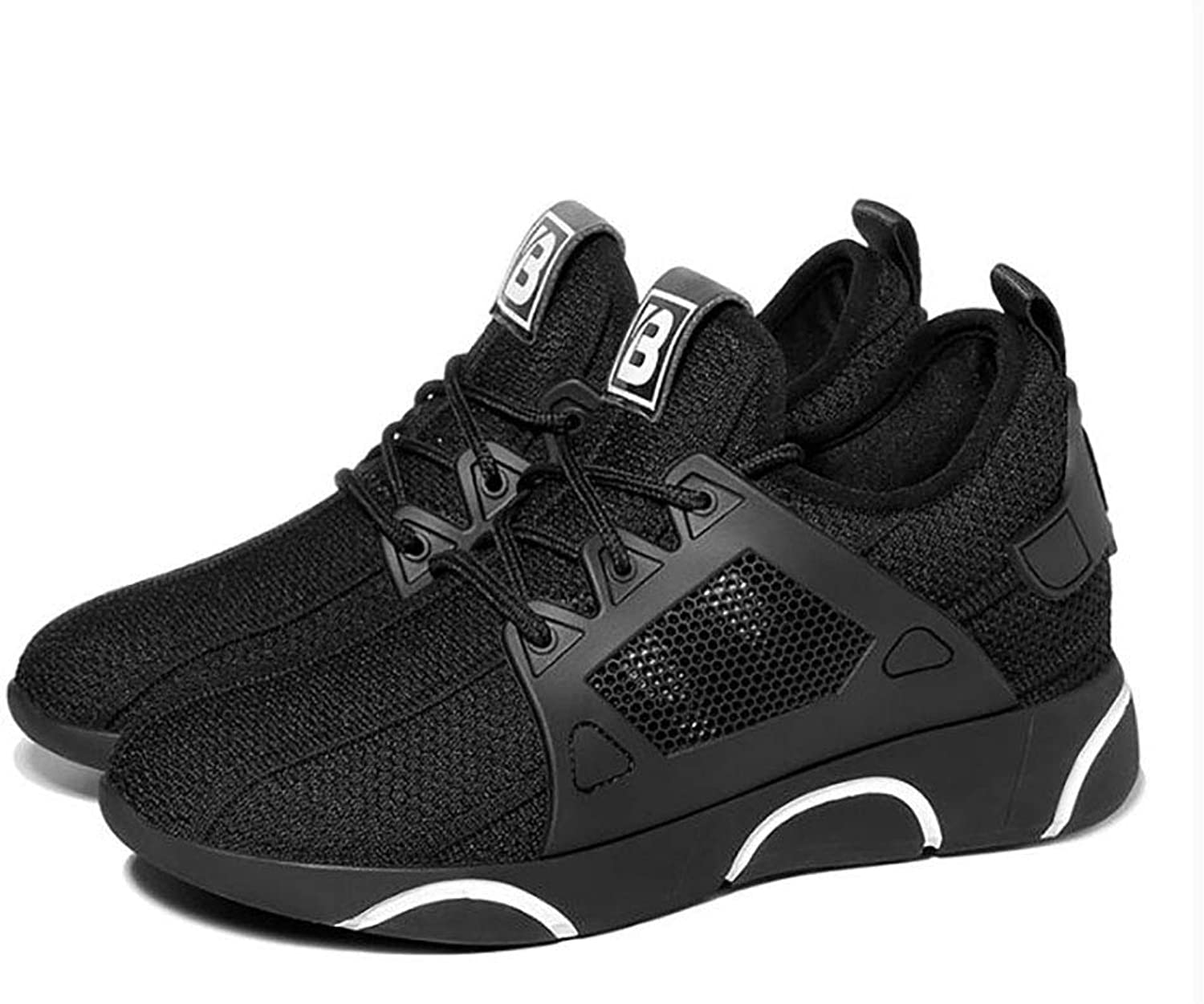 Sneakers, Women's shoes, Autumn Korean Version Breathable Casual shoes, Running shoes, Fitness shoes (color   B, Size   40)