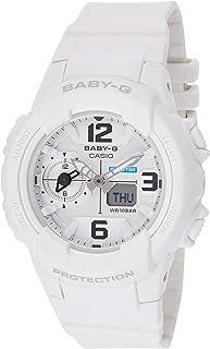 Casio Womens Quartz Watch, Analog-Digital Display and Carbon Fibre Strap